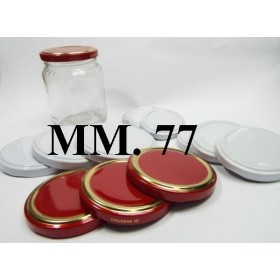 CAP 77 FOR GLASS JAR