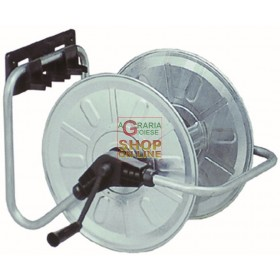 AGRATI WALL HOSE REEL ART. 131 GALVANIZED MT. 50