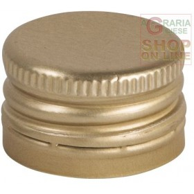SCREW CAP FOR BOTTLES MM. 24X16