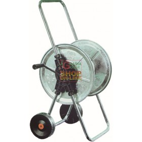 AGRATI TROLLEY HOSE REEL ART.210 GALVANIZED MT. 50