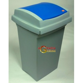 TATA RECYCLING BIN LT. 50 BLUE