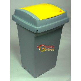 TATA RECYCLING BIN LT. 50 YELLOW
