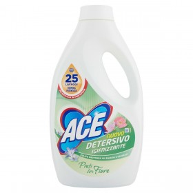ACE LAUNDRY DETERGENT WASHING MACHINE SANITIZING LIQUID FLOWERING LAWN 25 WASHES