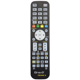 UNIVERSAL REMOTE CONTROL FOR PROGRAMMABLE DVD TV MOD. TECHNO 3