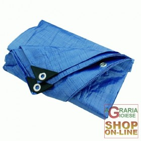 BURLED TOWEL BLUE PVC MT. 1.5 X 2