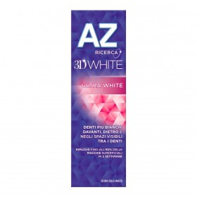 AZ 3D WHITE ULTRA WHITE TOOTHPASTE 65 AND 10 ML.