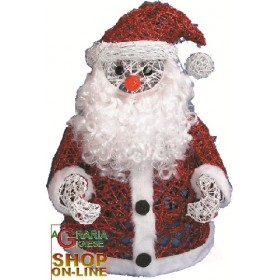 SANTA CLAUS IN LARGE WIRE LARGE CM. 58
