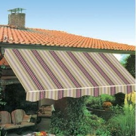 AWNING WITH RETRACTABLE ARMS CM.300X250 TESS. 5001