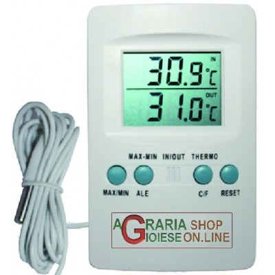 DIGITAL THERMOMETER FOR INCUBATORS WITH PROBE TO MEASURE