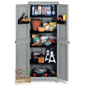 TERRY WAVE WARDROBE 2 DOORS cm. 70x44x181h BASE 2700 UTILIY
