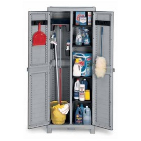 TERRY WAVE WARDROBE 2 DOORS CM. 70x44x181h SCOPE HOLDER 3700 UTILITY