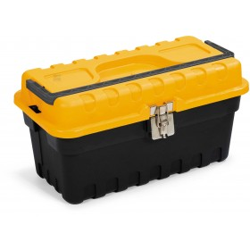 TERRY TOOL BOX IN THERMOPLASTIC RESIN STRONG 16 CM. 40X21X18