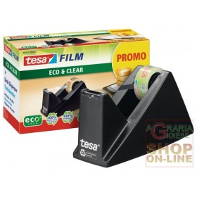 TESA MINI DISPENSER FOR TRANSPARENT TAPE COMPLETE WITH ROLL