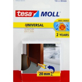 TESA ADHESIVE RUBBER COVER MOLL FOR DOORS MT. 1 MM. 38
