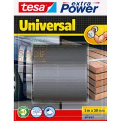 TESA TAPE AMERICAN EXTRA POWER MM. 50X5 MT. SILVER