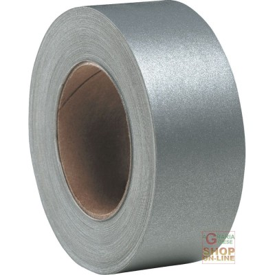 REAR REFLECTIVE FABRIC SCOTCHLITE SILVER GRAY THERMO-ADHESIVE FILM EN471 RT 200 METERS