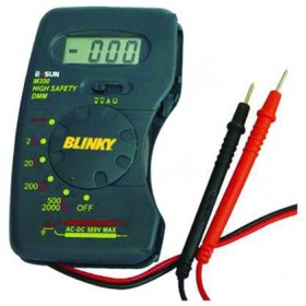 COMPACT BLINKY DIGITAL TESTER COMPLETE WITH RODS