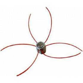 ALUMINUM HEAD FOR EXAGONAL-MINI 6 WIRE BRUSHCUTTER