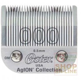 REPLACEMENT HEAD FOR HAIR CUTTER OSTER SIZE 000 SIZE 0.5 MM