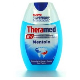 THERAMED TOOTHPASTE AND MOUTHWASH 75 ML. MENTHOL