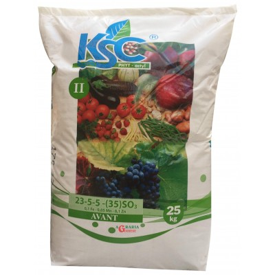 TIMAC KSC II AVANT WATER-SOLUBLE FERTILIZER WITH LOW CHLORINE