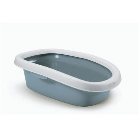 SPRINT 10 TOILET FOR SMALL CATS WHITE / BLUE STEEL cm 31x43x14h.