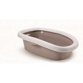 SPRINT 10 TOILET FOR SMALL SIZE CATS WHITE / POWDER cm 31x43x14h.
