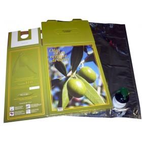 BAG-IN-BOX OIL INCLUDING BAG LT. 5