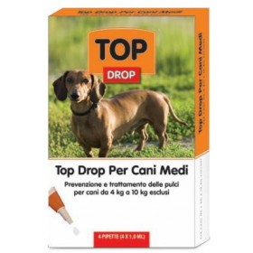 TOP DROP CANI MEDI DA 4 A 10 KG.