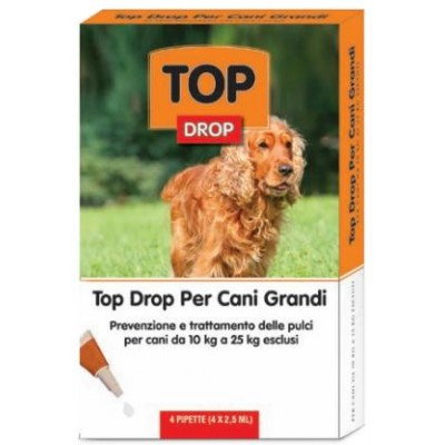 TOP DROP PIPPETTE FOR BIG DOGS FROM 10 TO 25 KG