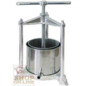 PREMITUTTO MELENZANE GRAPE PRESS IN BIG ALUMINUM