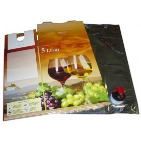 BAG-IN-BOX WINE INCLUDING BAG LT. 5