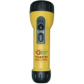LARGE YELLOW PLASTIC TORCH (2XD)