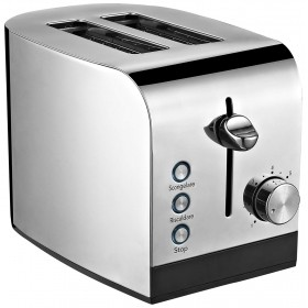 ELECTRIC TOASTER RGV TOAST EXPRESS 2 WITH TONGS AND CRUMP TRAY