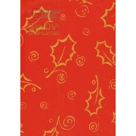 PVC TABLECLOTH CHRISTMAS MOD. 385-4641 CM. 140 H.