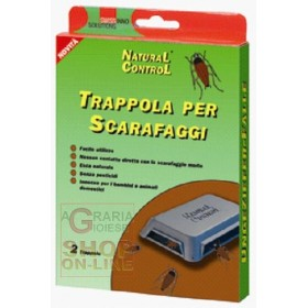 TRAOPPOLA FOR COCKROACHES AND FLATTE WITH BAIT PCS. 2