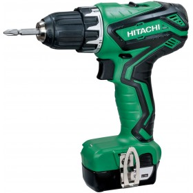 DRILL DRIVER HITACHI DS10DAL WITH 2 LITHIUM LI-ION BATTERIES