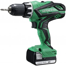 DRILL DRIVER HITACHI DS14DJL WITH 2 LITHIUM LI-ION BATTERIES