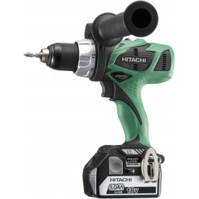 DRILL DRIVER HITACHI DS18DBL 18V 5Ah WITH 2 LITHIUM LI-ION