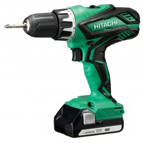 DRILL DRIVER HITACHI DV18DJL 18V 1,5Ah WITH 2 LITHIUM LI-ION