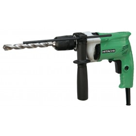 ELECTRIC DRILL HITACHI DV16VSS WITH PERCUSSION AND SET 100 PCS.