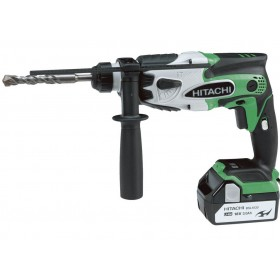DRILL HITACHI DH18DSL 18V 5Ah WITH 2 LITHIUM LI-ION BATTERIES