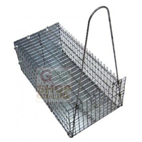 MICE TRAP IN MEDIUM METAL NET CM. 30 X 16 X 12H