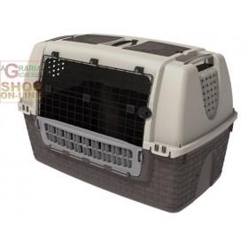 Car carrier for dogs Bama Easy Tour Tortora cm. 88x52x60h.