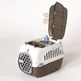 Carrier for Dogs and Cats Bama Tour Tortora cm. 52x33x34h