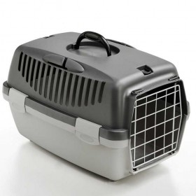 CARRIER FOR DOGS GULLIVER 1 WITH METAL DOOR cm. 48x32x31h.