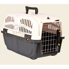 CARRIER FOR SMALL SIZE DOGS AND CATS SKUDO 2 WITH GRATE FOR IRON CM. 55 X 36 X 35.6