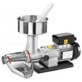 THREE SPADE ELECTRIC TOMATO SAUCER IN STAINLESS STEEL N. 3 HP. 0.40 WATT. 300
