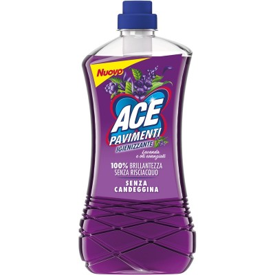 ACE SANITIZING FLOORS WITHOUT BLEACH WITHOUT RINSE LAVENDER AND ESSENTIAL OILS 1000 ML