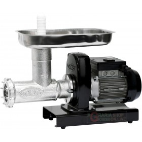 ELECTRIC MEAT MINCER PAVI SM HP. 0.50 WATT 370 N. 12 INOX